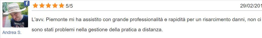 Avvocato Gianluca Piemonte