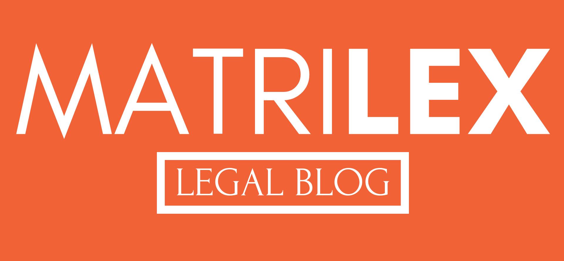Matrilex legal blog